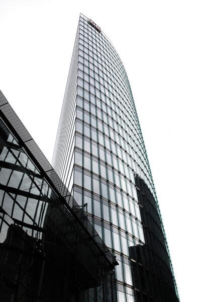 Bahn Tower  Architetto Helmut Jahn